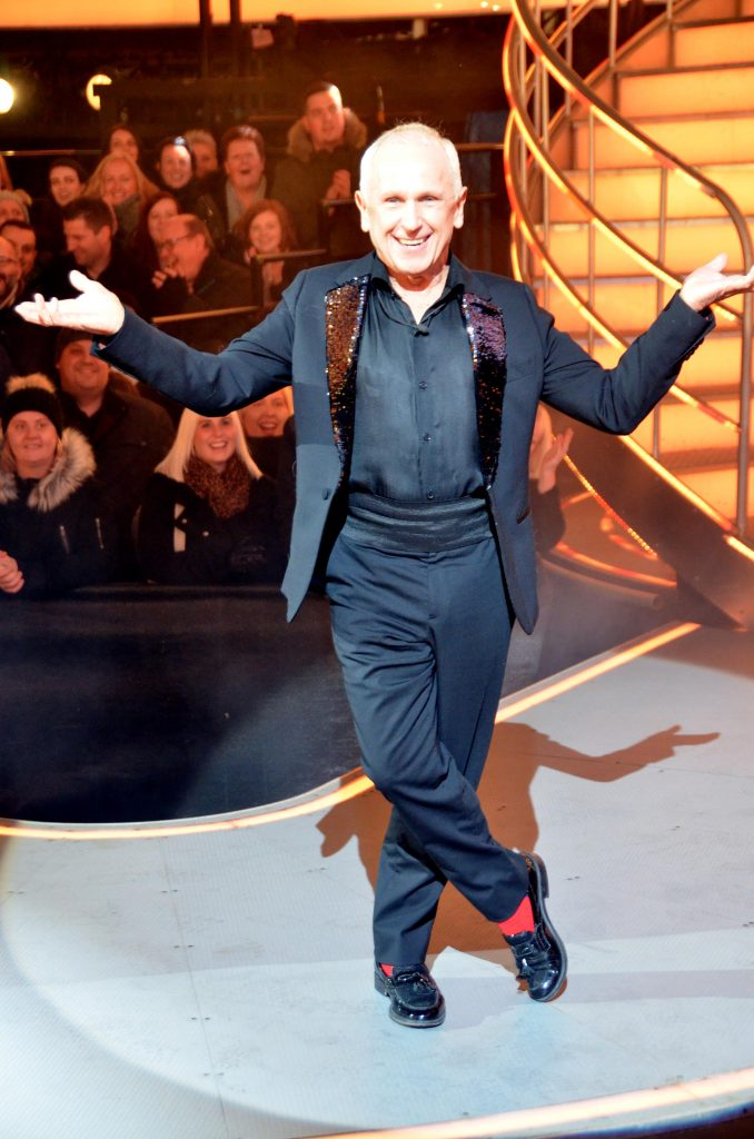 Wayne Sleep Comes In Fifth Place During Celebrity Big
