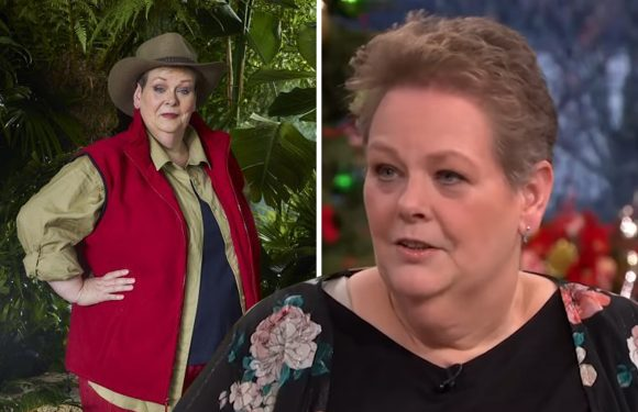 Anne Hegerty was secretly allowed half an hour every day to learn her pantomime script whilst in I'm A Celebrity jungle