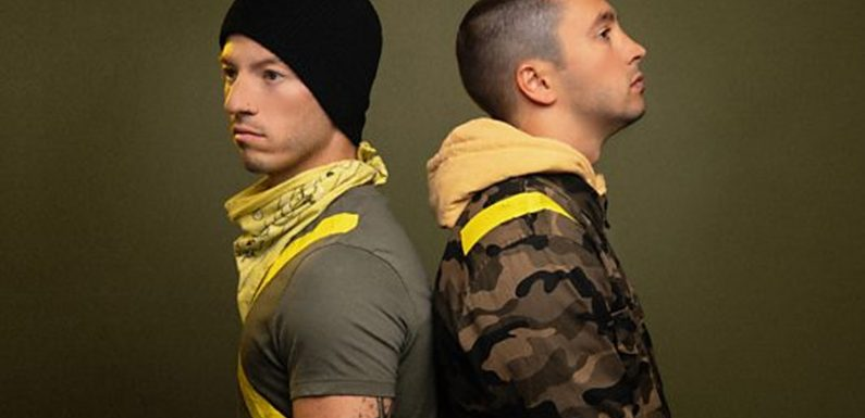 Twenty One Pilots' hit song 'Jumpsuit' crowned Hottest Record of the Year by Annie Mac on BBC Radio 1